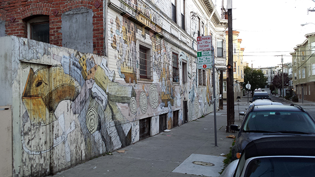 Mural on Lex from South. Photo by Robert Taylor