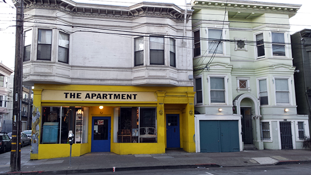 The Apartment and neighbor. Photo by robert Taylor