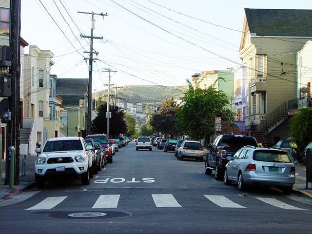 24th and Treat Avenue. Photo by Cynthia Wigginton