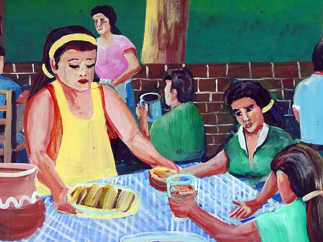 El Pariso Mural Photo by Cynthia Wigginton