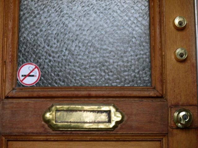 No Smoking Here Photo by Kathleen Narruhn