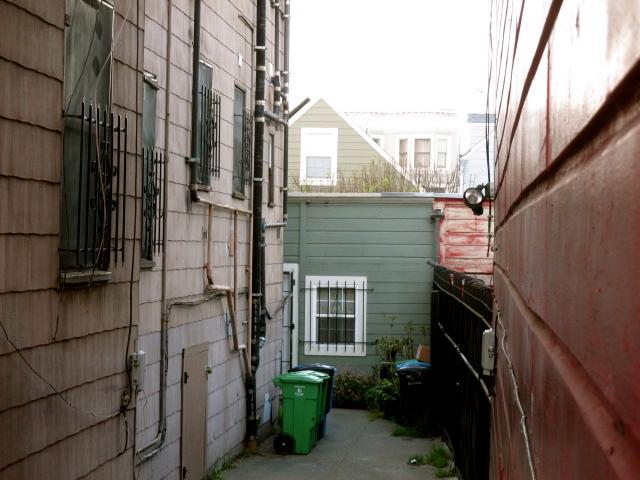 Backyard Cottage by Kathleen narruhn