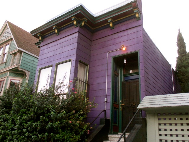 The Purple House Photo by Kathleen Narruhn