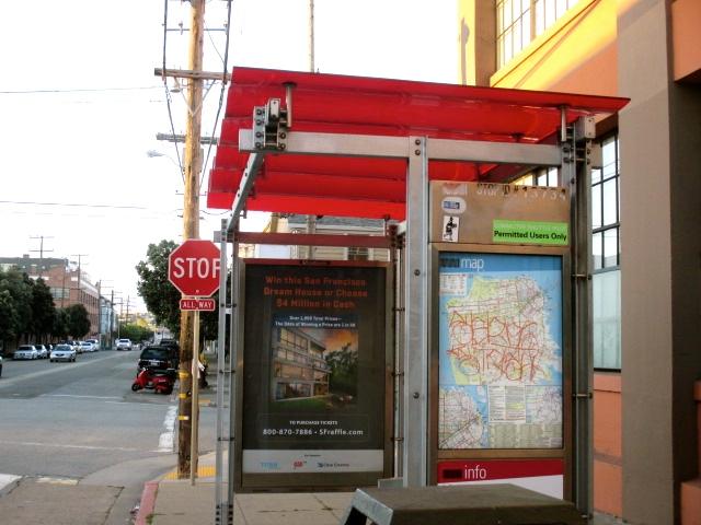 27 Bryant Bus Stop Photo by Kathleen Narruhn