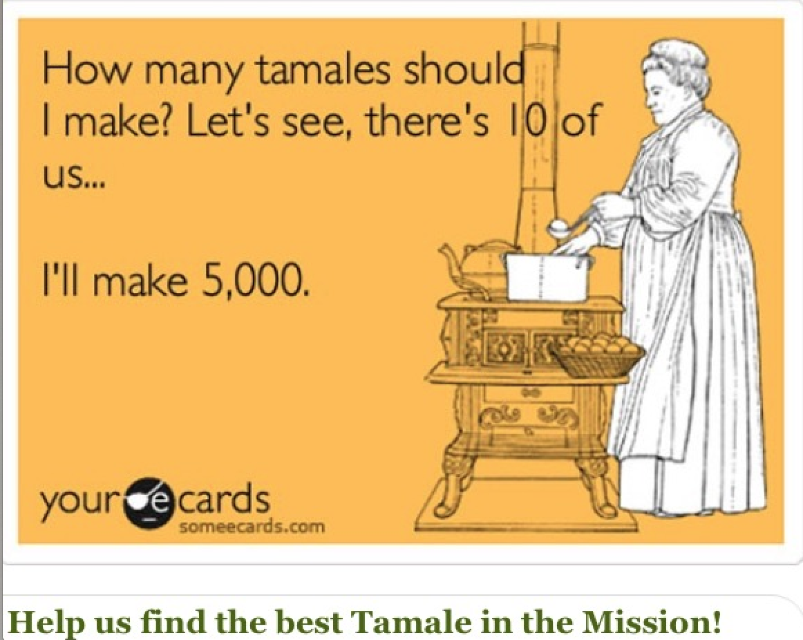 Tamales, Education and a Contest – Tonight!