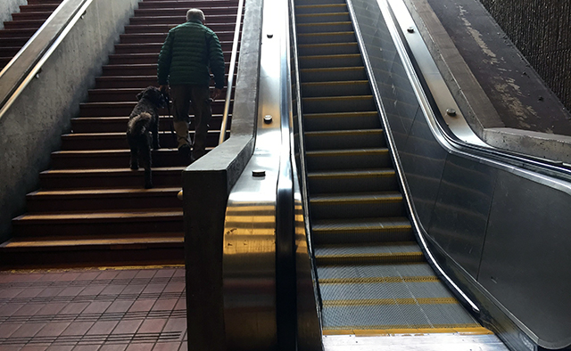 24th St. Escalator Out  Is Now Back (UpDate)