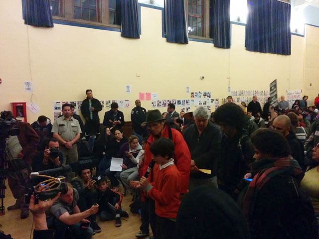 Tempers Flare at Town Hall for Officer-Involved Shooting