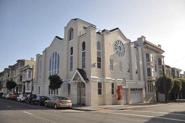 The Former First Methodist Episcopal Church Turned Condos. Photo by Christian Albertson