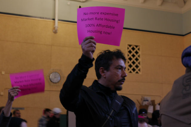 Foes Pack Meeting to Shout Down Folsom St. Project
