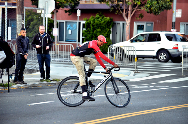 Michael Dormer, a 16-year-old Mission Crit competitor. Photo by Cristiano Valli