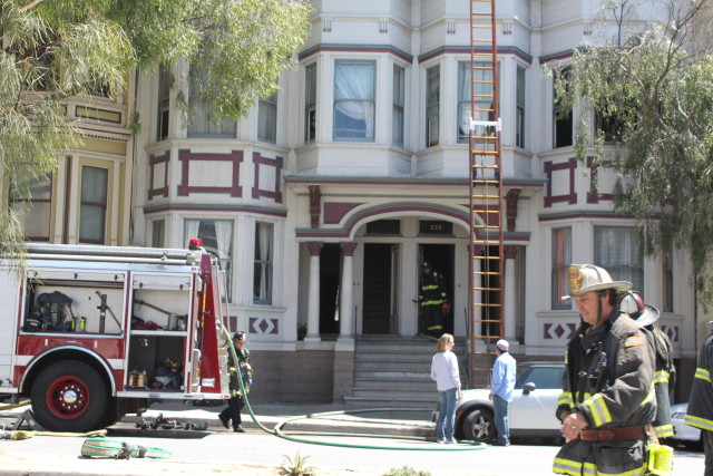 Fire at 18th and Guerrero Displaces Six Tenants