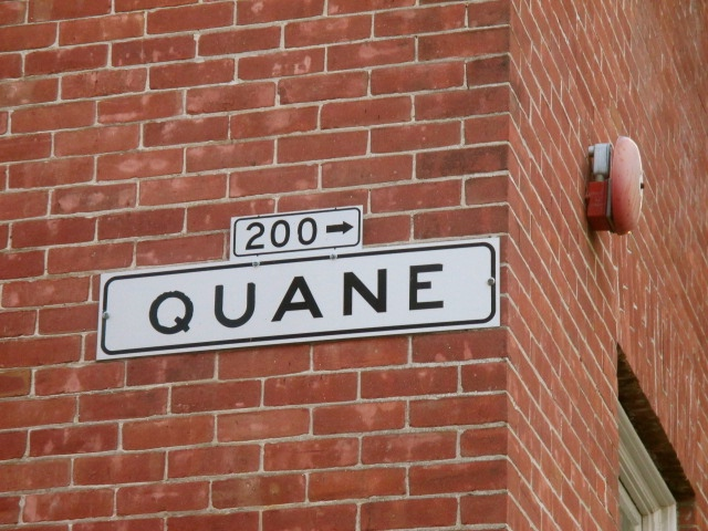 Quane Alley Photo by Kathleen Narruhn