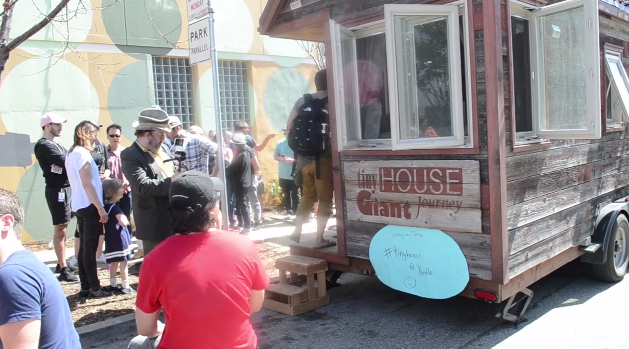 Tiny House makes Giant Journey to San Francisco