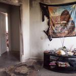 Fire damage in Sala-Haquekyah Chandler's Bayview duplex.