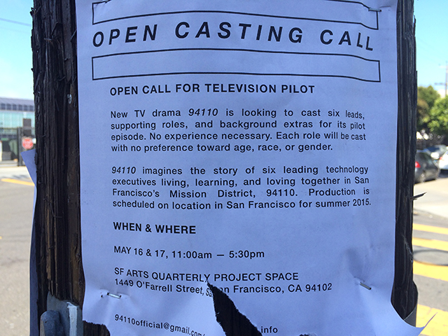 Open Casting for New Mission TV Drama