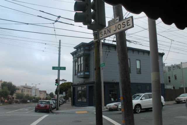 30th Street and San Jose. Photo by Anita O'Brien