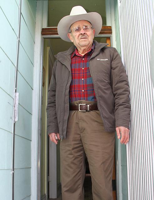 Florentino Ortíz, quién trabajó como obrero para el San Francisco Union durante 27 años y ahora está retirado- Foto de Daniel Mondragón