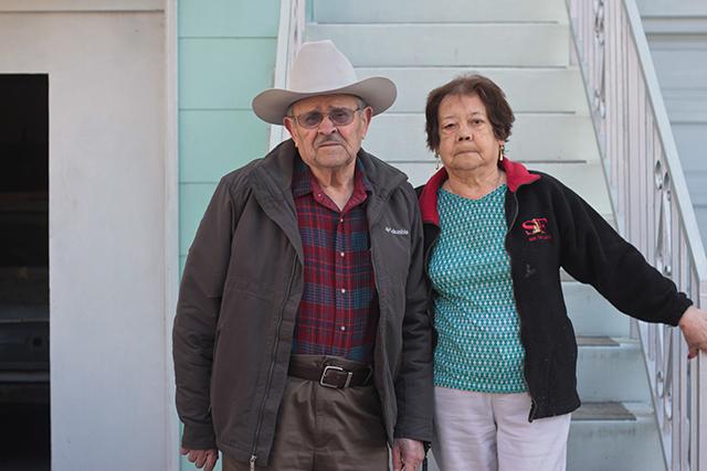 El matrimonio Ortíz ha estado aquí desde los 50 y no planean mudarse a ningún lado. Foto de Daniel Mondragón