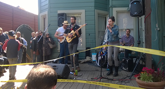 Local Bands Take Over Local Porches