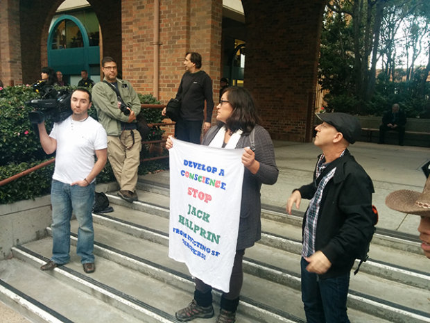 Halprin Tenants' Evictions Halted, For Now