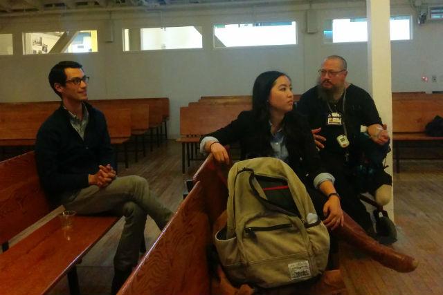 Friends School Talks Traffic Trouble