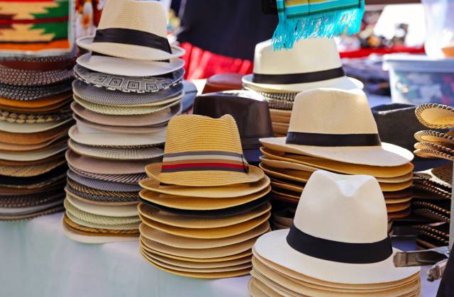 Hats! Photo by George Lipp