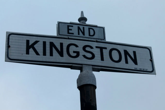 Kingston Ends Here. Photo by Anita O'Brien