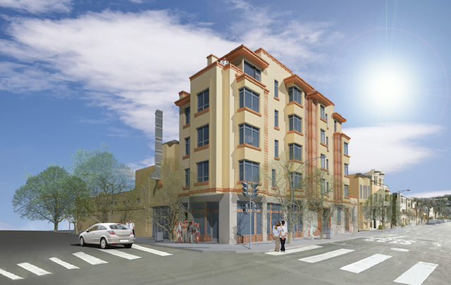 Rendering of the proposed development at 2799 24th Street. Courtesy of Forum Design Architects.