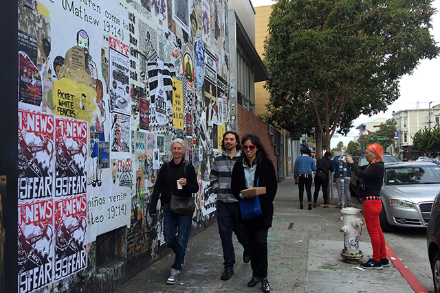 Travelers Flock to The Mission for Authentic SF