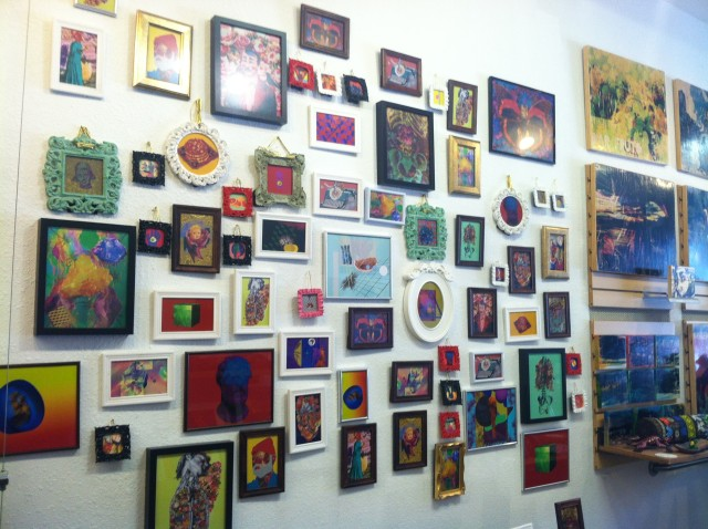 Snapshots and a Map of Mission Art Galleries