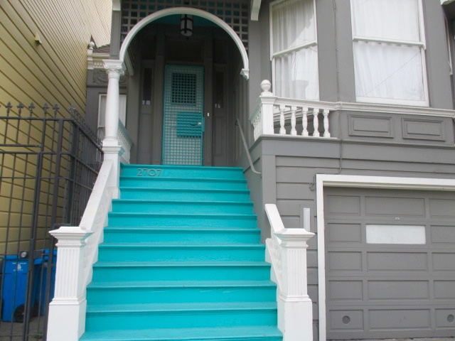 Turquoise Steps Photo by Kathleen Narruhn