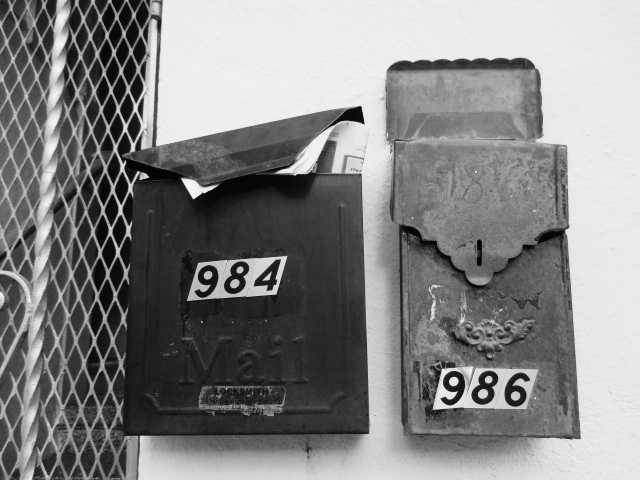 Mailboxes Photo by Kathleen Narruhn