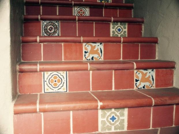 Tile Steps Photo by Kathleen Narruhn