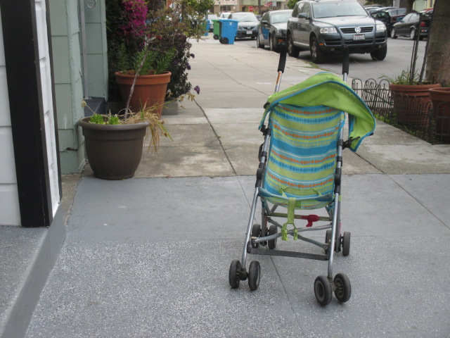 Stroller just waiting Photo by Kathleen Narruhn