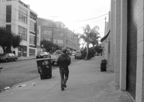 Jogging to work Photo by Kathleen Narruhn