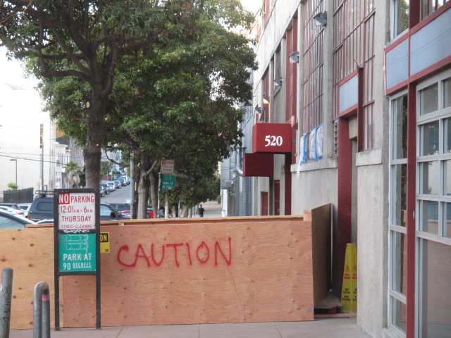 Caution Photo by Kathleen Narruhn