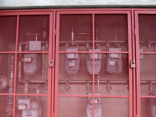 Gas Meters Photo by Kathleen Narruhn