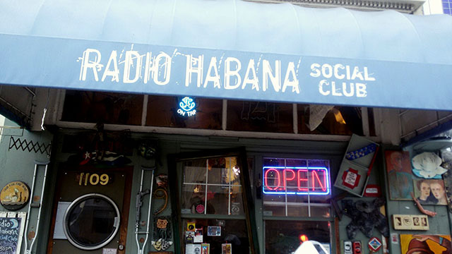 Radio Habana: Flavor + Revolution Tucked Into a Closet