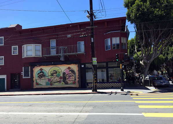 Mural Honoring Gay Love Vandalized Again