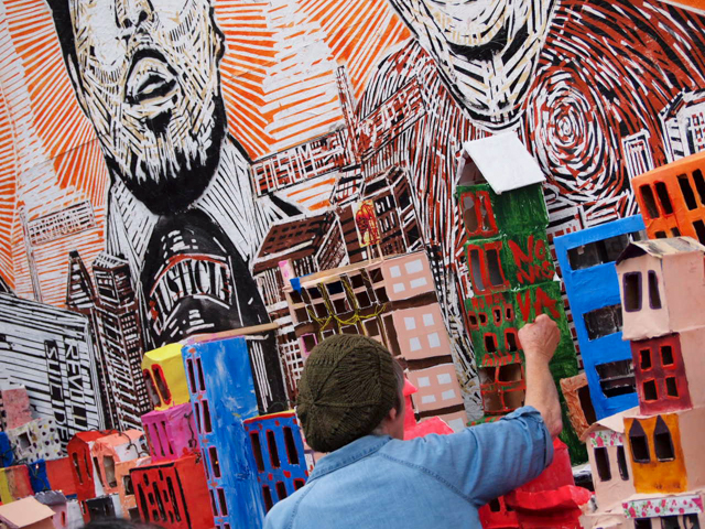 Artists, Residents Sculpt Gentrification as They See It
