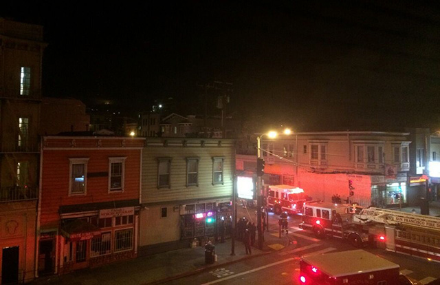 Early Morning Fire on 26th Displaces Five SF Tenants