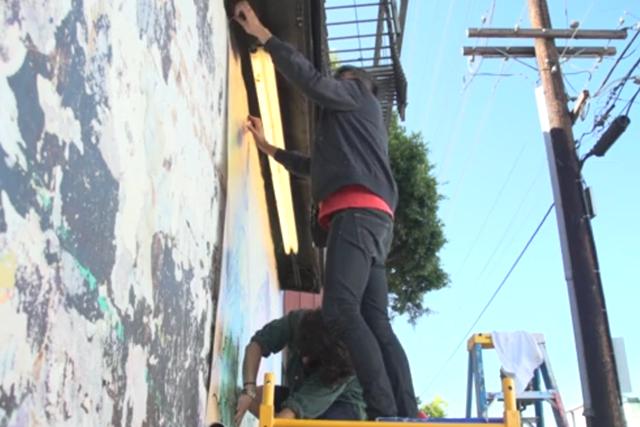 SF Galería Recognizes One Suspect in Video of Gay Mural's Defacing