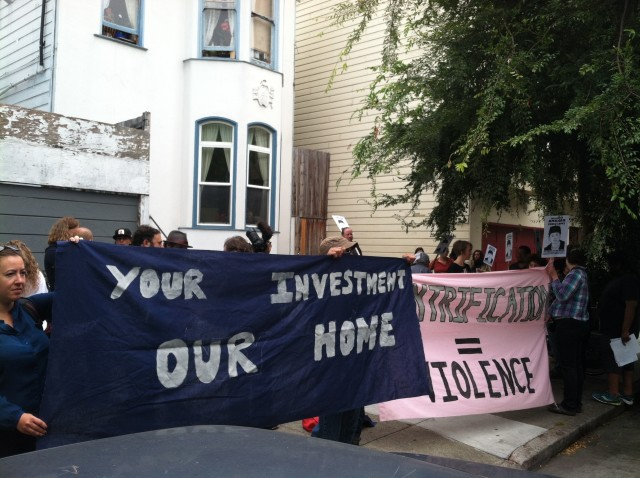 Open House for Unit in Amilcar's Building Met with Protest