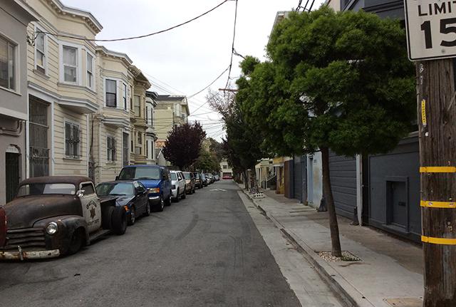 Natoma Street. Photo by Judy Graboyes