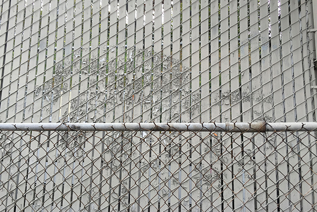 A fence. Photo by Lydia Chávez
