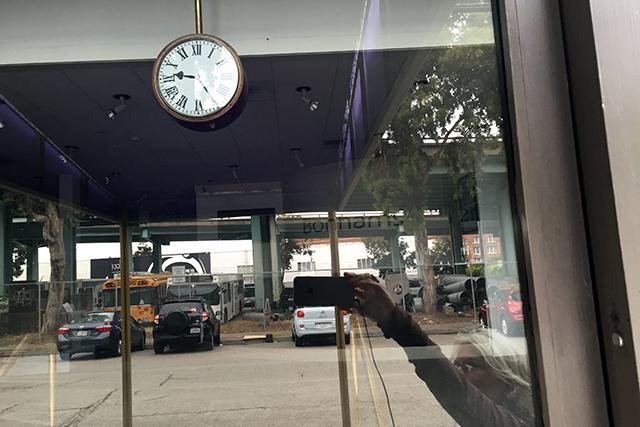 Time. Photo by Lydia Chávez