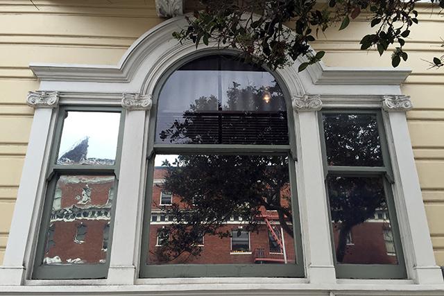 Nice window. Photo by Lydia Chávez