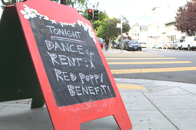 Mission Eyes: Dancing For The Rent at Red Poppy