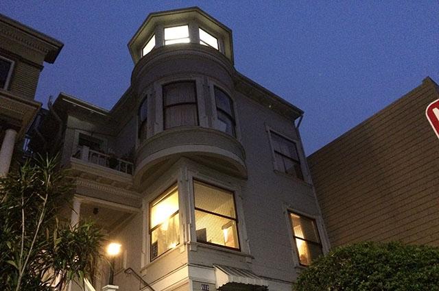 The house that Jack Halprin bought on Thursday evening.
