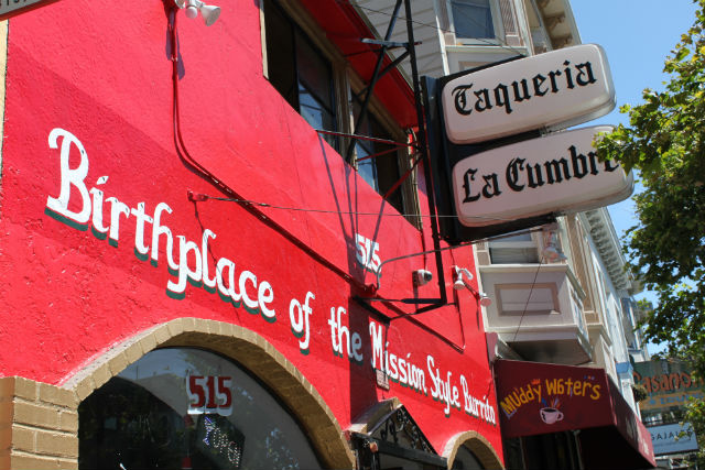 The outside of La Cumbre. Photo by Emma Neiman.